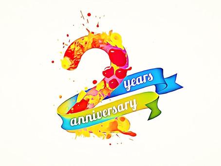 Нам два года!