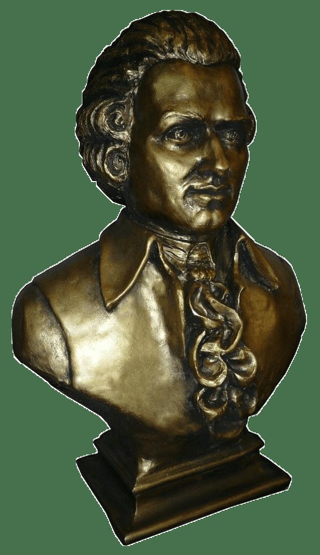 Бюст Вольфганг Амадей Моцарт