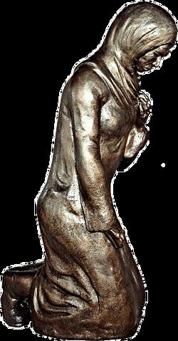 Скорбящая мать. Памятник