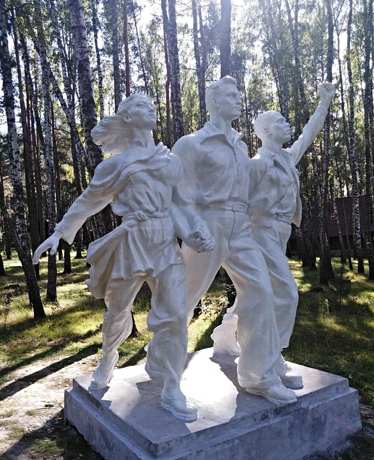 Скульптура Дружба народов
