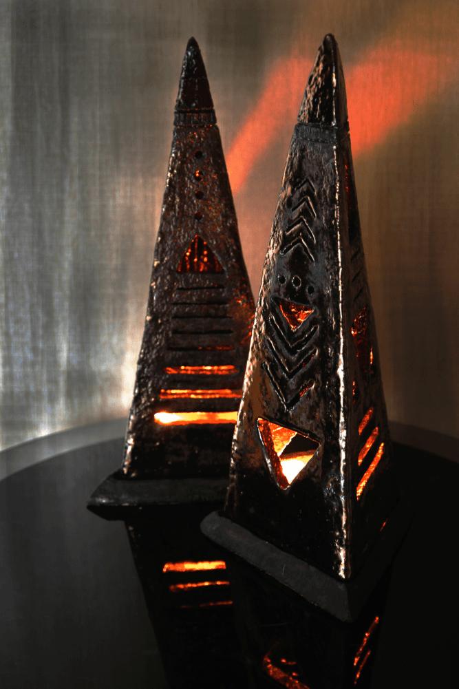 Светильник. Пирамида.