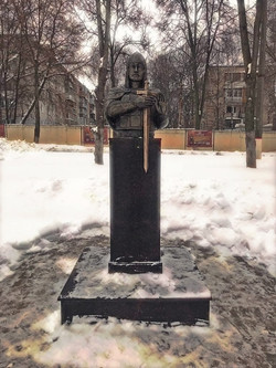 Бюст. Александр Невский. Вид 2