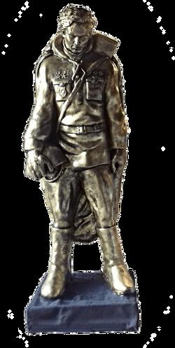 Воин. Памятник