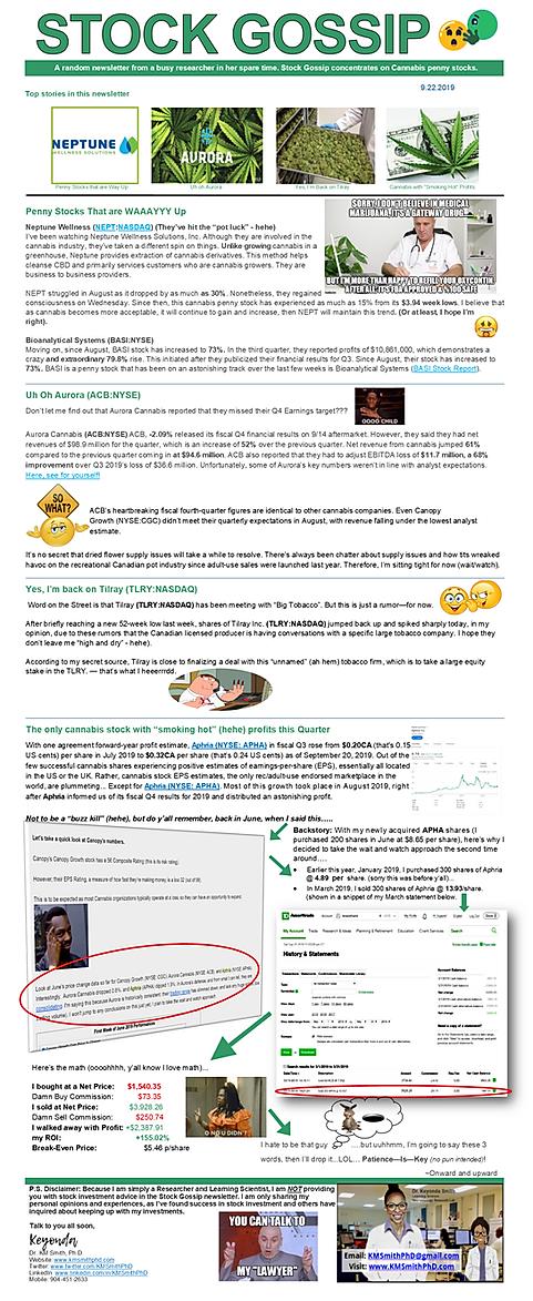 Newsletter 09212019