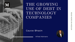The Growing Use of Debt in Technology Companies