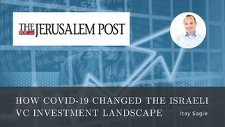 Allied Advisers on The Jerusalem Post - How COVID-19 changed the Israeli VC Investment Landscape