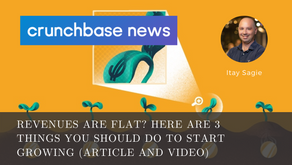 VCforU on Crunchbase News: Revenues Are Flat? Here Are 3 Things You Should Do To Start Growing