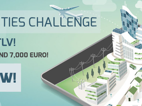 3C Smart Cities Challenge| Pitch Event TLV
