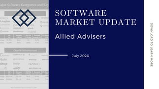 Software Market Update - July 2020: Report by Allied Advisers
