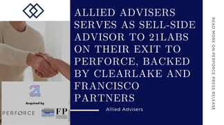 Allied Advisers serves as sell-side advisor to 21Labs on their exit to Perforce
