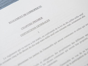 Le règlement d'ordre intérieur de copropriété obligatoire depuis 2019
