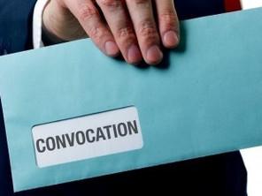 Convocation: documents obligatoires à annexer à une assemblée générale d'une copropriété Belgique