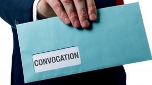 Convocation à l'assemblée générale de copropriété, documents obligatoires à y joindre (ou consulter)