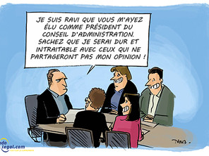 Qui est le Président et le Secrétaire de l'assemblée générale de copropriété en Belgique?