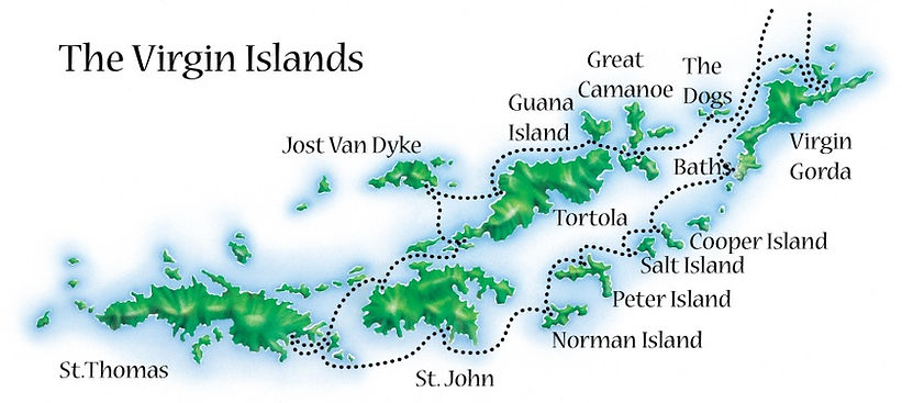 The Virgin Islands Cruising Grounds