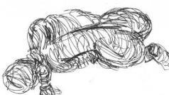 Scribble Drawing - Pencil