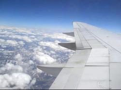 Flight to Hawai'i 2011.