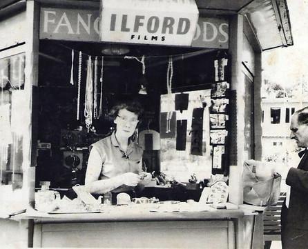 Grandma working at Battersea Park.  The reason my Dad met my Mom.jpg