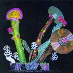 Strange Plants - Found Art 1