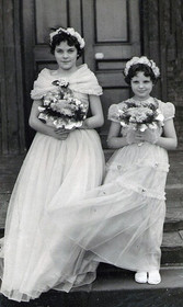 Mom as a Bridesmaid