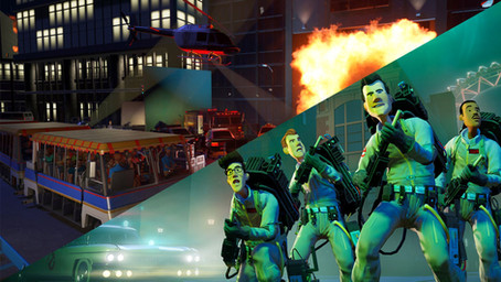 Studios Pack and Ghostbusters - Planet Coaster: Console Edition