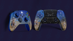 Xbox and PlayStation Controllers