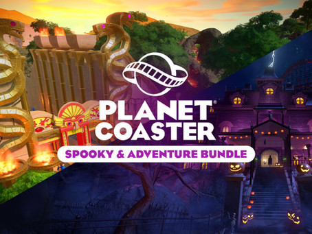 Spooky & Adventure Bundle - Planet Coaster: Console Edition