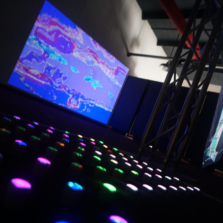 Spinning with Pixels Exhibition