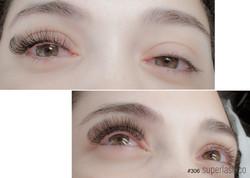 volume, doll eye, eyelash extensions