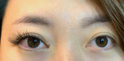 light volume, cat eye, eyelash extensions