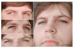 classic, male eyelash extension