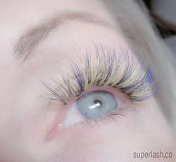 color lash, eyelash extensions