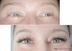 volume, light wispy, eyelash extensions