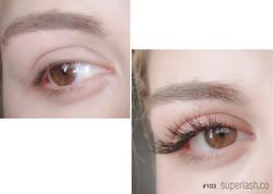 classic, doll eye, eyelash extensions