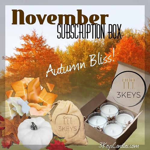 November Subscription Box