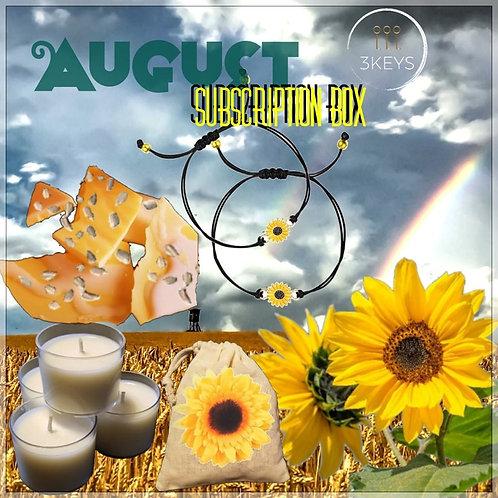 August Subscription Box