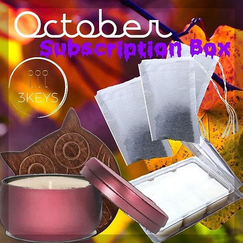 October Subscription Box