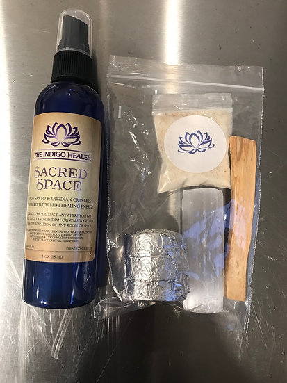 Clearing Kit W/Smokeless Smudge