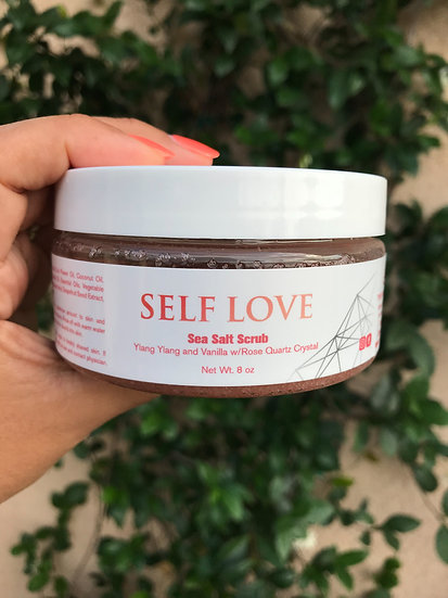 Self Love Sea Salt Scrub
