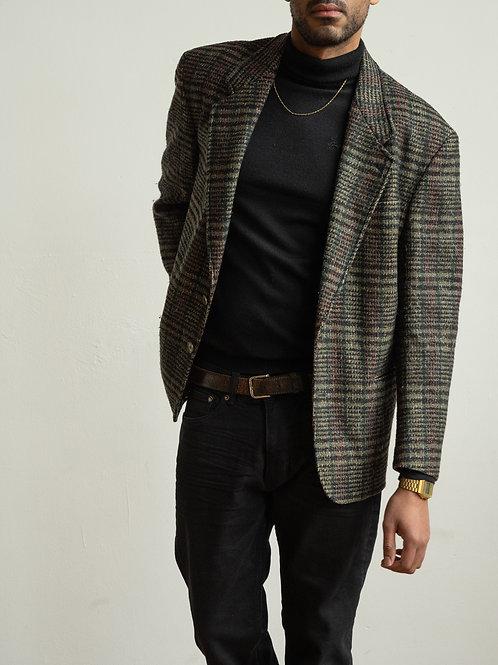 missoni - brown checked blazer