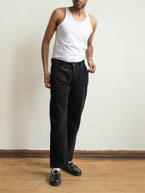 calvin klein - black corduroy trouser
