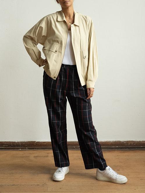 burberry - beige harrington jacket