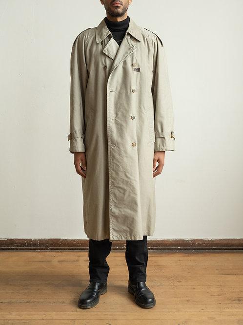 paul and shark - grey trenchcoat