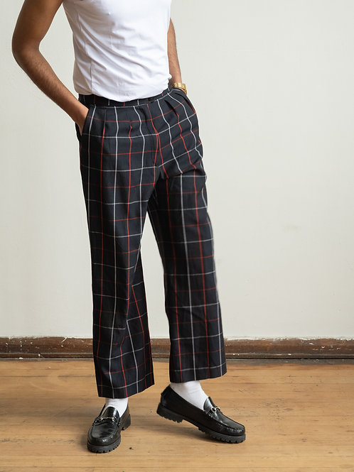 burberry - checked trouser