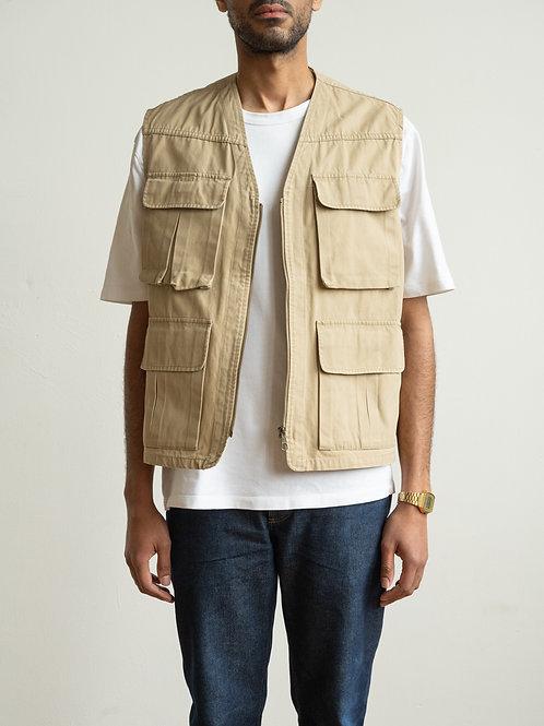 marlboro classic - beige utility vest