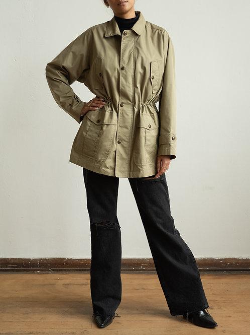 burberry - olive shooting jacket