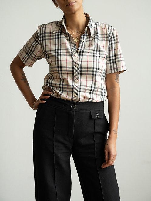burberry - nova check shortsleeve shirt