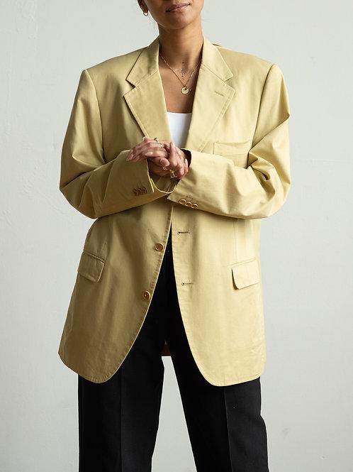 yves saint laurent - old beige blazer