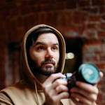деловой портрет мужчины видеографа
