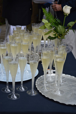 Champagne Toast at Sailpast